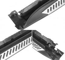 Пороги (подножки) для BMW X5 F15 '14- (ASP)