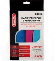 Универсальная салфетка из микрофибры CarLife 30x40 см, 3шт