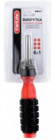 Отвертка с силовой ручкой 6 в 1 CarLife SD601