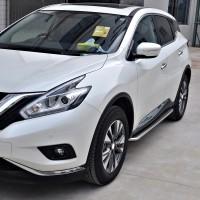 Пороги (подножки) для Nissan Murano '15- (ASP)