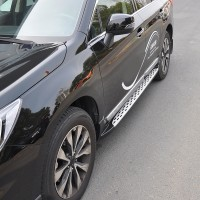 Пороги (подножки) для Subaru Outback '15- (ASP)