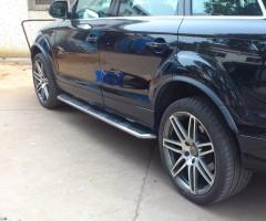 Пороги (подножки) для Audi Q7 '05- (ASP)
