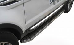 Пороги (подножки) для Land Rover Range Rover Evoque '11- (ASP)