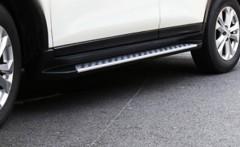 Пороги (подножки) для Nissan X-Trail (T32) '14- (ASP)