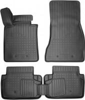 Коврики в салон для BMW 5 G30 / 31 '17- полиуретановые (Nor-Plast)