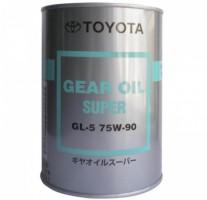 Масло трансмиссионное Toyota Gear Oil Super 75W90 08885-02106, 1 л