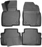 Коврики в салон для Mazda CX-5 '17- полиуретановые, черные (L.Locker)