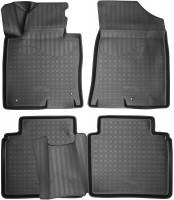 Nor-Plast Коврики в салон для Hyundai Sonata '17- полиуретановые (Nor-Plast) 3D