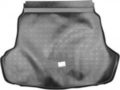 Коврик в багажник для Hyundai Sonata '15-, резино-пластиковый (NorPlast) без выступа под запаску