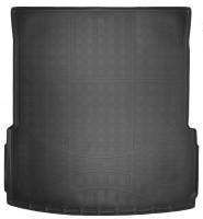 Коврик в багажник для Mercedes GL-Class/GLS X166 '12-, длинный, резино/пластиковый (Nor-Plast) чёрный