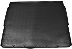 Коврик в багажник для Peugeot 3008 '17-, верхний, полиуретановый (NorPlast) черный