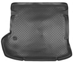Коврик в багажник для Toyota Corolla '07-12, резино/пластиковый (NorPlast) черный