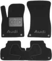 Textile-Pro Коврики в салон для Audi Q5 '17-, текстильные, черные (Люкс) 8 клипс
