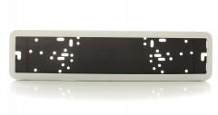 Рамка номера металлическая СarLife белая