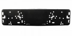 Фото 1 - Рамка номера металлическая СarLife черная глянцевая