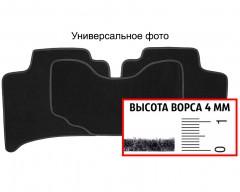 Коврики в салон для Renault Trafic '15- второй ряд текстильные, черные (Люкс)