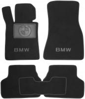 Коврики в салон для BMW 5 G30 '17- текстильные, черные (Премиум)