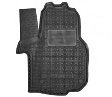 Коврик в салон водительский для Volkswagen Crafter '17- резиновый, черный (AVTO-Gumm)