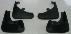 Брызговики для Skoda Fabia II '07-14 хетчбэк, полиуретановые, полный комплект (ASP)