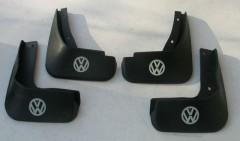 Брызговики для Volkswagen Jetta VI '10-15, полиуретановые, полный комплект (ASP)