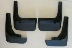 Брызговики для Volkswagen Caddy '04-15, полиуретановые, полный комплект (ASP)