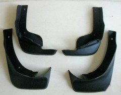 Брызговики для Nissan Qashqai '14-, полиуретановые, полный комплект (ASP)