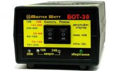 Master Watt Автоматическое зарядное устройство Master Watt БОТ-30 30 А 12/24 В
