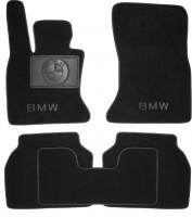Коврики в салон для BMW 5 F07 GT '09-  текстильные, черные (Люкс)