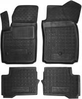 Коврики в салон для Fiat 500е, резиновые, черные (AVTO-Gumm)