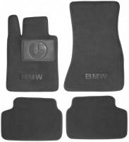 Коврики в салон для BMW 6 G32 GT '17- текстильные, серые (Люкс)