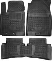 Коврики в салон для Kia Stonic '18-, резиновые, черные (AVTO-Gumm)