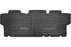 Коврики в салон для Peugeot Traveller 2016- резиновые, черные, 2 ряд  (AVTO-Gumm)