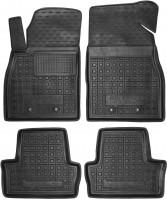 Коврики в салон для Chevrolet Volt '11-15 резиновые, черные (AVTO-Gumm)