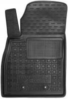 Коврик в салон водительский для Chevrolet Volt '11-15 резиновый, черный (AVTO-Gumm)
