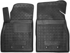 Коврики в салон передние для Chevrolet Volt '11-15 резиновый, черный (AVTO-Gumm)