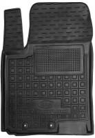 Коврик в салон водительский для Kia Stonic '18- резиновый, черный (AVTO-Gumm)