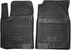 Коврики в салон передние для Kia Stonic '18- резиновый, черный (AVTO-Gumm)