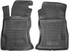 Коврики в салон передние для Subaru XV 2017- резиновый, черный (AVTO-Gumm)