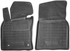 Коврики в салон передние для Toyota Camry V70 2018- резиновый, черный (AVTO-Gumm)