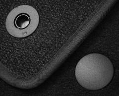 Фото 8 - Коврики в салон для Mercedes GLE-Coupe C292 '15- текстильные, черные (Премиум) 8 клипс