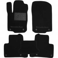 Фото 1 - Коврики в салон для Mercedes GLE-Coupe C292 '15- текстильные, черные (Премиум) 8 клипс