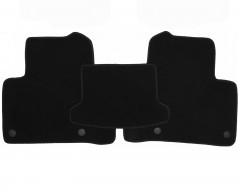 Фото 4 - Коврики в салон для Mercedes GLE-Coupe C292 '15- текстильные, черные (Премиум) 8 клипс