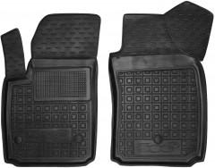 Коврики в салон передние для Fiat 500е резиновый, черный (AVTO-Gumm)