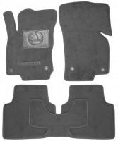 Коврики в салон для Skoda Superb '15- текстильные, серые (Люкс) 4 клипсы