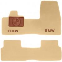 Коврики в салон для BMW i3 '13- текстильные, бежевые (Премиум)