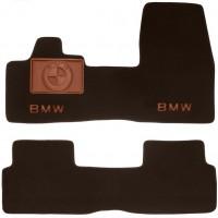 Коврики в салон для BMW i3 '13- текстильные, коричневые (Премиум)