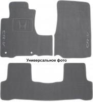 Коврики в салон для Honda CR-V '17- текстильные, серые (Премиум) 2 клипсы