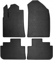 Коврики в салон для Peugeot 407 '04-11 резиновые (Stingray)