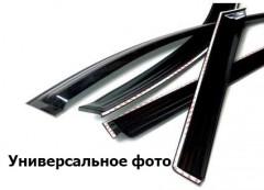 Дефлекторы окон для Volkswagen Touran '03-10 микроавтобус, накладные (Azard)