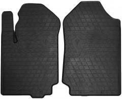 Коврики в салон передние для Ford Ranger T6 '11- резиновые (Stingray)